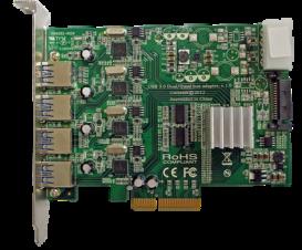 Quad bus USB 3.0 Host Controller