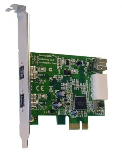 FireBoard800-e 1394b PCI express adapter