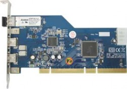 Fireboard-800 Glass Optical Fiber 1394b PCI adapter