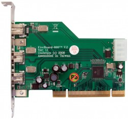 FireBoard 800™ V.2 1394b PCI adapter