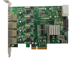 Quad Bus USB 3.0 PCI-e adapter