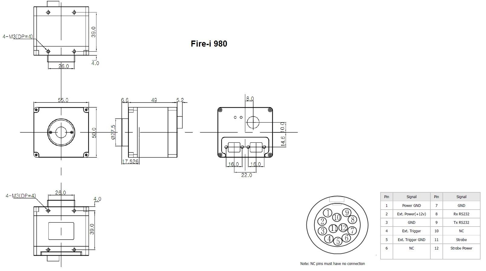 mechanical diagram (fire-i 980)
