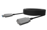 USB 3.0 Hybrid Active Optical Cables, Type A to MicroB
